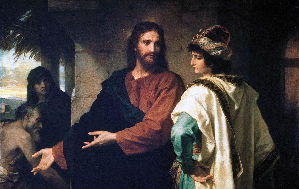 """""""Учителю благи, що да сторя, за да наследя живот вечен?"""" (Лука 18:18)"""