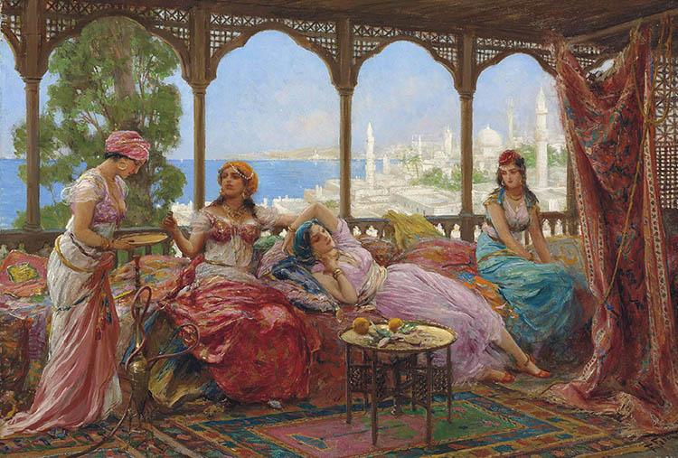 Притча за търговеца и четирите жени
