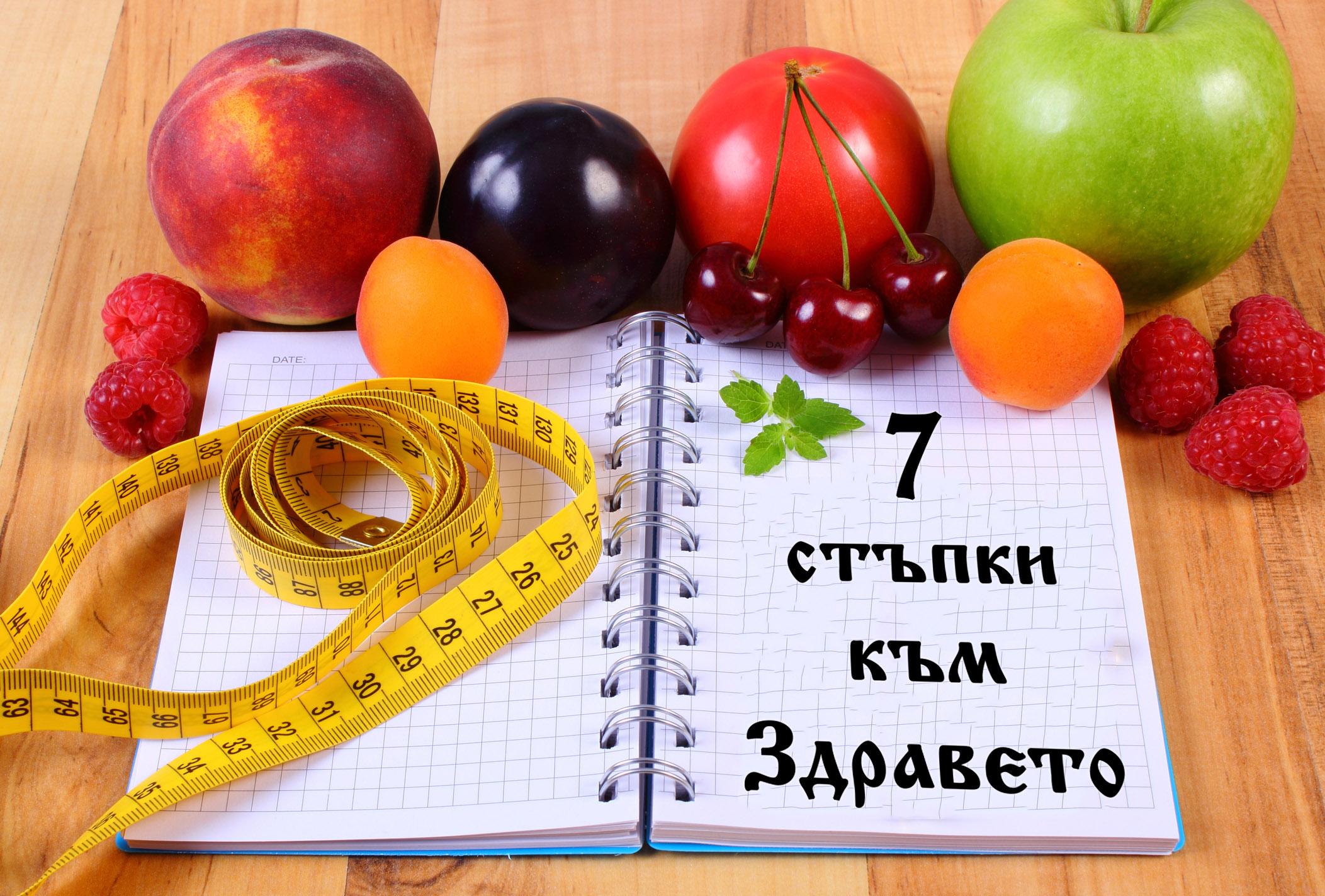 """Цяла книга: """"7 Стъпки към Здравето"""""""