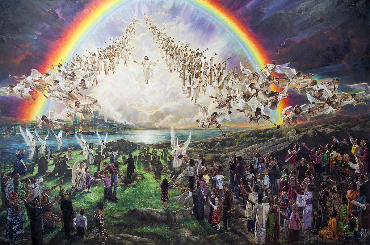 Учителя: Доброто иде вече в света! Христос слиза отгоре!
