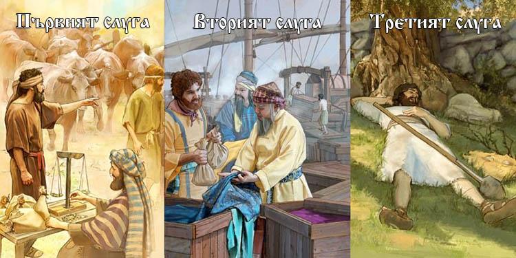 Учителя Петър Дънов за трите вида хора